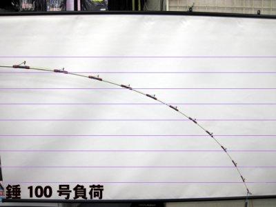 画像2: FRONTIER BEAST 100K-SP2 ブラック(模様入り) [つり吉]