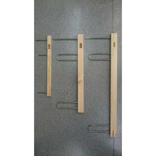 画像1: つり吉オリジナル 木製掛け枠 深海魂 40cm/50cm/65cm (1)