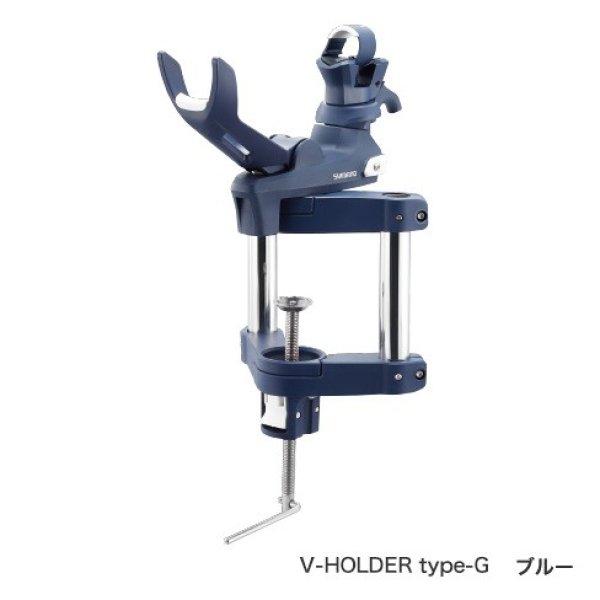 画像1: シマノ ブイホルダー タイプG(ゲキハヤサポート付)  PH-A01S ブルー (1)