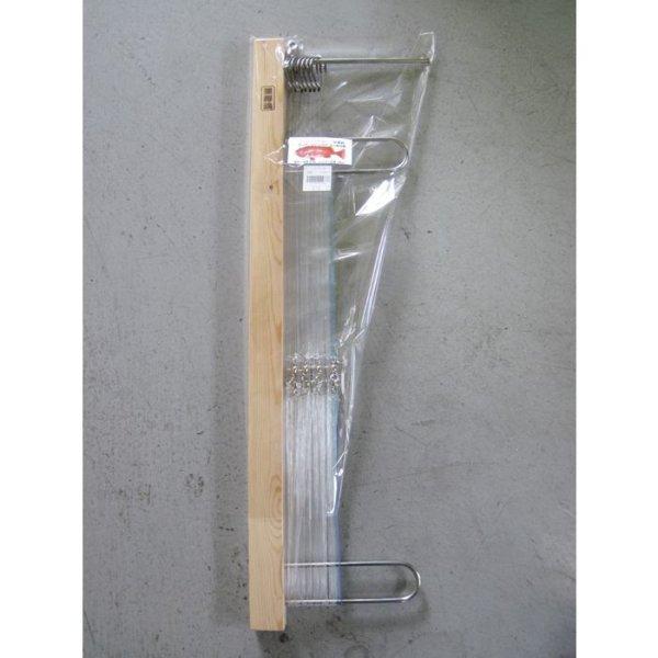 画像1: つり吉オリジナル ベニアコウ仕掛け 8本ムツ針28号 間口港・小やぶ丸推奨 (1)